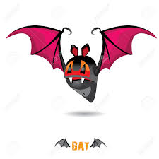 halloween bat clip art funny devil bat with wings halloween character royalty free