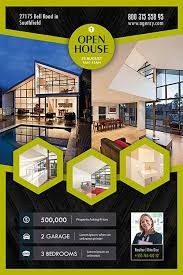 free real estate flyer templates open house real estate free flyer template for photoshop