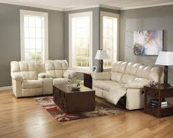 Grey Leather Recliner Living Room 3 Piece Couch Set Living Room Loveseat Reclining