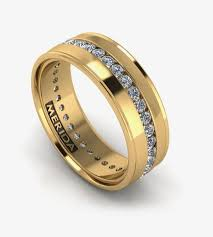 mens yellow gold wedding bands our most popular wedding band for men made to order any way you