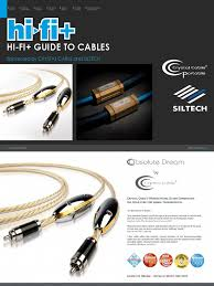 hifi guide to cables loudspeaker electrical connector