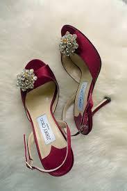 burgundy wedding shoes dreamy high heel wedding shoes to look gorgeous weddceremony