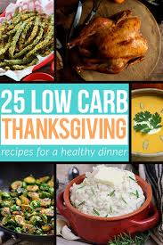 25 low carb thanksgiving recipe ideas