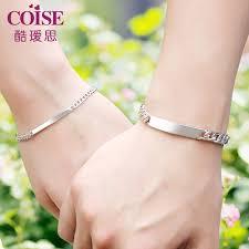 name link bracelet images Coise couple bracelets personalized id tag name bracelets set jpg
