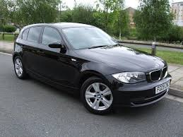 black bmw 1 series used bmw 1 series 2009 diesel 118d se 5dr hatchback black manual