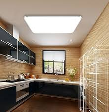 plafonnier cuisine design mctech 64w led plafonnier ultraslim moderne plafonnier corridor