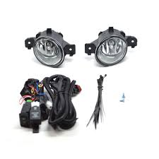 nissan altima 2013 fog lights replacement fog lights driving light with bezel and harness left