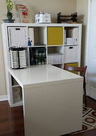 Kallax Filing Cabinet Desk Storage Combination Ikea Kallax White Ikea Kallax Desk