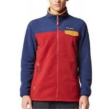 stand collar polar fleece casual front zip outdoor jacket