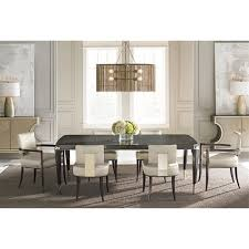 jane classic charcoal anegre gold dining table kathy kuo home