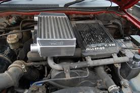 mitsubishi pajero 2 8 td uprated intercooler allisport