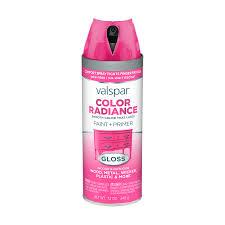 valspar color wheel shop valspar color radiance passion pink general purpose spray paint