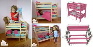 DIY Doll Bunk Beds Home Design Garden  Architecture Blog Magazine - Dolls bunk bed