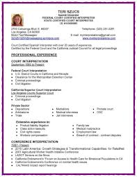 single page resume format medical interpreter resume free resume example and writing download 81 surprising one page resume examples template