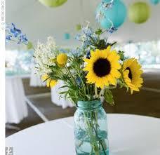 Ball Jar Centerpieces by 47 Best Sunflower Wedding Ideas Images On Pinterest Sunflower