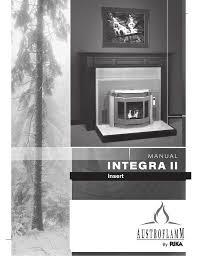 rika integra ii operating instructions