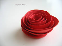paper roses craft beautiful cheap easy paper roses my mystic