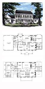 floor plan sles plantation house plan 86287 total living area 4263 sq ft 5