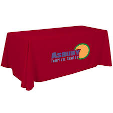 6ft Imprinted Table Cover Custom 6 U0027 Custom Table Covers And Throws Six Foot Printed Tablecloths