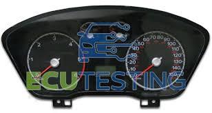 2003 ford focus instrument cluster lights focus focus dashboard instrument cluster fault