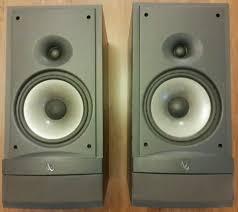 Infinity Bookshelf Speakers Infinity Rs3 Reference Series 125w 2 Way Bookshelf Speaker Pair