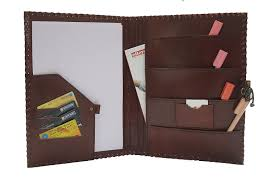 Portfolio Folder For Resume Amazon Com Blf Vintage Handmade Embossed Leather Portfolio