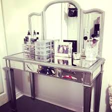 Small Vanity Table Mirrored Vanity Table Collection In Mirrored Vanity Table With Diy