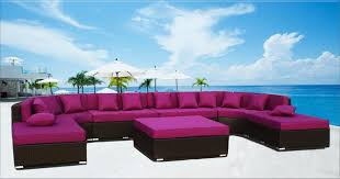 Wicker Sectional Patio Furniture by Zanzibar 16 Ft Round Wicker Sectional Sofa Outdoor Patio Furniture