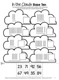 value of a digit worksheet and paste place value worksheets for 1st and 2nd 2 digit numbers