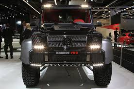mercedes pickup truck 6x6 brabus b63 s because the mercedes benz g63 amg 6x6 wasn u0027t insane