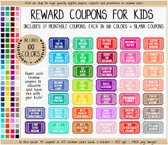 printable scale tickets sale reward coupon clipart printable reward ticket rainbow