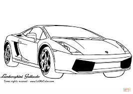 lamborghini car drawing lamborghini gallardo coloring page free printable coloring pages
