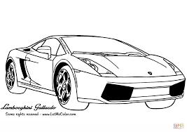lamborghini gallardo coloring page free printable coloring pages