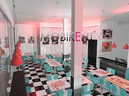 mobilier diner americain plan 3d restaurant diner à annecy lyon mobikent