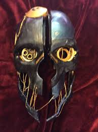 Corvo Costume Halloween Corvo Mask Dishonerd Mask Cosplay 3d Printed Hand