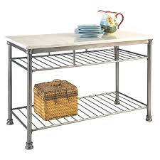 the orleans kitchen island marble top kitchen island cart foter in orleans kitchen island with