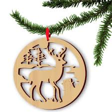 online buy wholesale laser cut wooden christmas decoration from