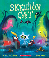skeleton cat a fun filled halloween book for all ages