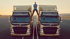 volvo truck of the year how u0027d they do that jean claude van damme u0027s u0027epic split u0027 the two