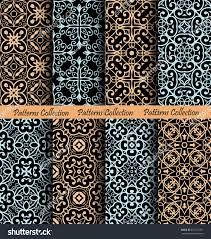 islamic pattern backgrounds vector seamless ornament stock vector