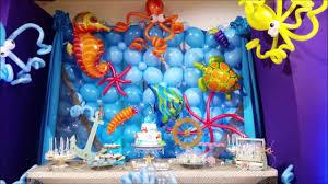 the sea party the sea theme party decor