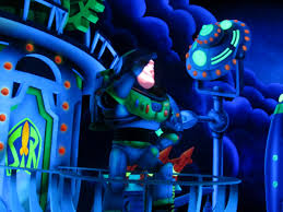 wdwthemeparks com buzz lightyear s space ranger spin just before exiting buzz lightyear tells guests to see how they scored in the attraction