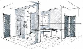 dessiner en perspective une cuisine perspective d interieur gascity for