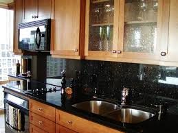 backsplash ideas for kitchens with granite countertops glass block kitchen backsplash and light brown granite counter