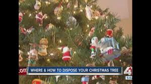 Waste Management Christmas Tree Pickup by Done With Your Christmas Tree Here U0027s Where To Recycle Them In The