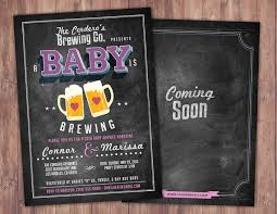 coed baby shower baby is brewing coed baby shower invitation baby shower