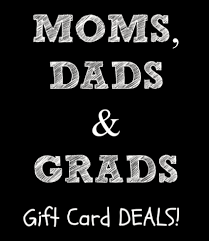 restaurant gift card deals grads dads bonus gift card deals surviving a s