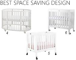 Best Convertible Crib White Baby Cribs Best Space Saving Cribs With Stokke Sleepi 4 In