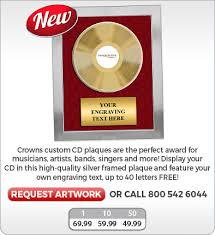 customized plaques with photo custom cd plaques plaques