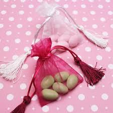 pink organza bags organza favor bags with tassels 10 pcs favor bags favor